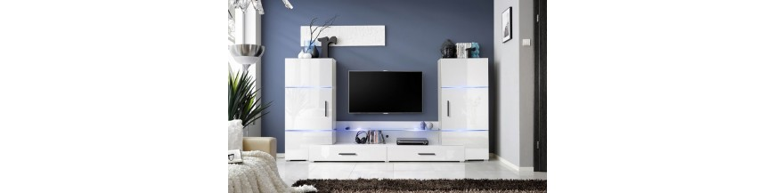 Ensemble meuble TV à poser