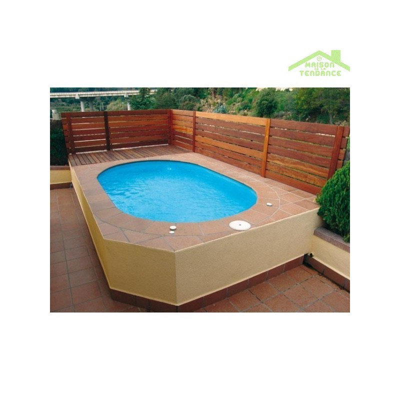 Grande table de s jour cantara en bois laqu blanc mat for Coque piscine solde
