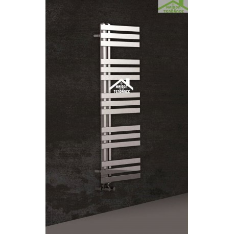 radiateur s che serviette design vertical verona 50x120 cm en chrome. Black Bedroom Furniture Sets. Home Design Ideas