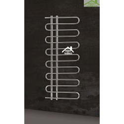 Radiateur sèche-serviette design vertical FELICITA 50x120 cm en chrome