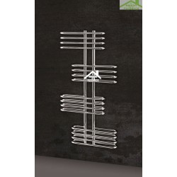 Radiateur sèche-serviette design vertical EDEN 50x120 cm en chrome