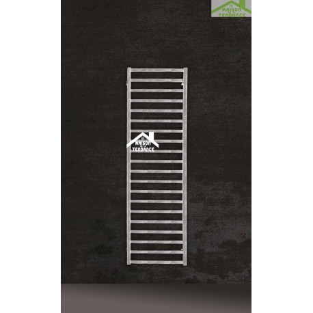 radiateur s che serviette design vertical karnak 50x100 cm en chrome. Black Bedroom Furniture Sets. Home Design Ideas