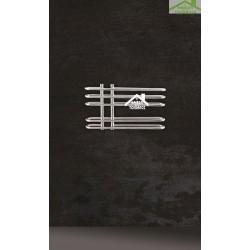Radiateur sèche-serviette design vertical DORA 70x40 cm en chrome