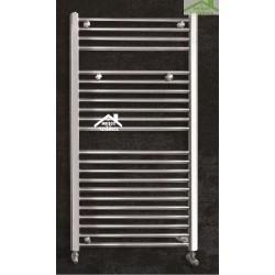 Radiateur sèche-serviette design vertical NILE 45x118 cm en chrome