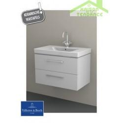 Ensemble meuble & lavabo RIHO ALTARE SET 31  en bois stratifié 80x47 x H56,5 cm