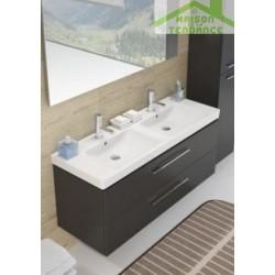 Ensemble meuble & lavabo RIHO ALTARE SET 35   en bois stratifié  130x47 x H56,5 cm