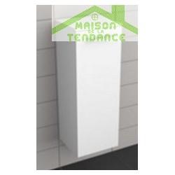 Armoire de douche à 1 porte gauche RIHO ALTARE en bois stratifié 35 x 32 x 93,2 cm