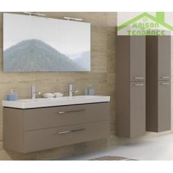 Armoire de douche à 2 portes gauche RIHO ALTARE en bois stratifié 35 x 32 x 171,5 cm