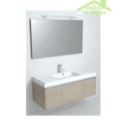 Ensemble meuble & lavabo RIHO ANDORA SET 05 en bois stratifié 120x48 x H 48 cm