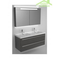 Ensemble meuble & lavabo RIHO  BELLIZZI SET 26 en bois stratifié 120x45x H 60 cm