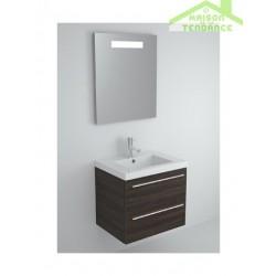 Sous meuble de lavabo à 2 portes RIHO BELLIZZI 60x55x45 cm