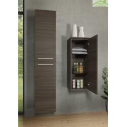 Armoire de douche à 2 portes gauche RIHO BELLIZZI en bois stratifié 35x32x171,5 cm