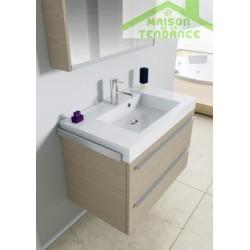 Ensemble meuble & lavabo RIHO BOLOGNA SET 53 en bois stratifié 80x48x H 58,5 cm