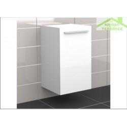 Armoire de douche à 1 porte gauche RIHO BOLOGNA en bois stratifié 40x40 H 96,8 cm