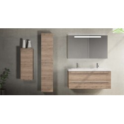 armoire de douche 2 portes gauche riho bellizzi 35x32x171 5 cm. Black Bedroom Furniture Sets. Home Design Ideas
