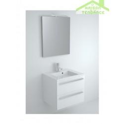 Ensemble meuble & lavabo RIHO BRONI SET 01 en bois stratifié 60x48x H 52,5 cm