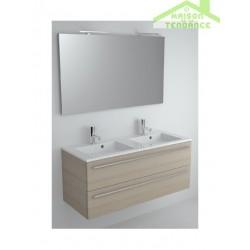 Ensemble meuble & lavabo RIHO BRONI SET 15 en bois stratifié 120x48x H 52,5 cm