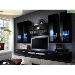 Ensemble meuble TV LYRA NIGHT avec LED