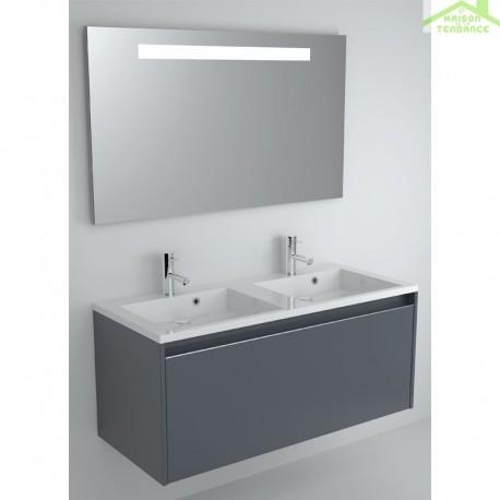 Ensemble meuble lavabo riho elzas set 20 120x51 h 52 cm - Ensemble lavabo meuble ...