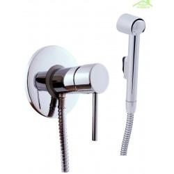 Mitigeur bidet, toilettes encastrable SEINA avec douchette