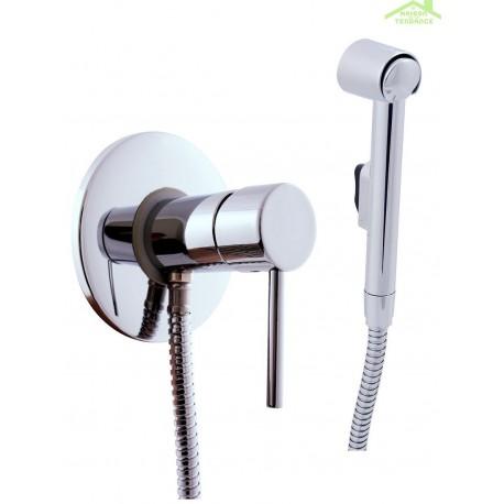 mitigeur bidet toilettes encastrable seina avec douchette. Black Bedroom Furniture Sets. Home Design Ideas