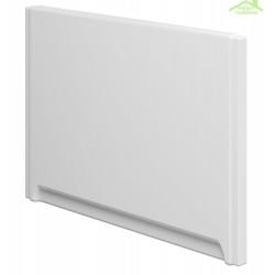 Tablier de baignoire latéral universel en acrylique blanc