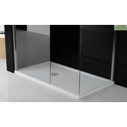 receveur de douche plat novellini olympic plus avec bonde. Black Bedroom Furniture Sets. Home Design Ideas