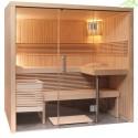 Cabine de Sauna PANORAMA SMALL de SENTIOTEC 214x160 cm