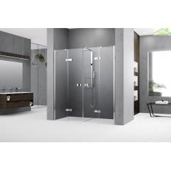Parois de douche battantes 2 portes avec 2 fixes NOVELLINI GALA 2A - H 200cm