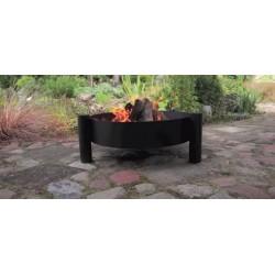 chaudron pot en fonte avec couvercle sur tr pied brasero haiti. Black Bedroom Furniture Sets. Home Design Ideas