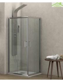 parois de douche carr es new flora h 180cm. Black Bedroom Furniture Sets. Home Design Ideas