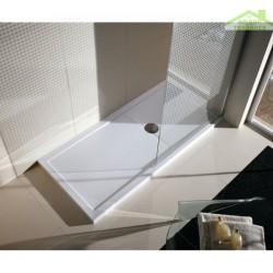 receveur de douche plat novellini olympic plus avec bonde. Black Bedroom Furniture Sets. Home Design Ideas