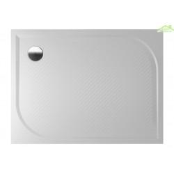 Receveur de douche rectangulaire en marbre RIHO KOLPING DB33 80x120x3 cm
