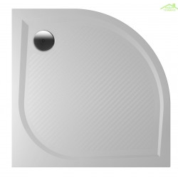 Receveur de douche quadrant en marbre RIHO KOLPING DB10 80x80x3 cm