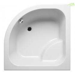 Receveur de douche acrylique quadrant avec assise RIHO 342 90x90x35cm