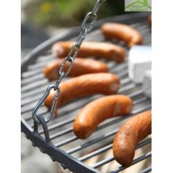 Grille pour barbecue suspendu