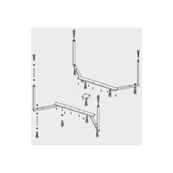 Grande baignoire ronde acrylique RIHO duo COLORADO 180x180 cm