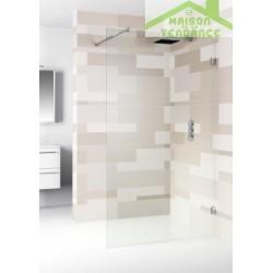 Ecran de bain RIHO SCANDIC S400 en verre clair