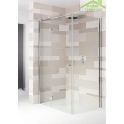 Parois de douche universelle RIHO POLAR P206 en verre clair