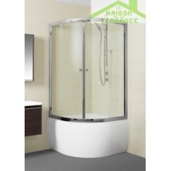Cabine de douche complète RIHO LUCENA 343 90x90x35cm