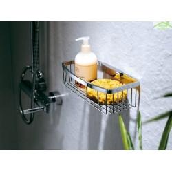 Porte-savon, panier détachable NOVELLINI en chrome