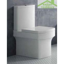 Pack WC à poser CUTIE avec abattant à frein de chute