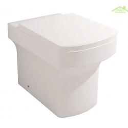 Cuvette WC à poser IMPRESSION avec abattant à frein de chute