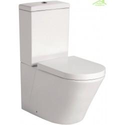 Pack WC à poser LARX avec abattant à frein de chute