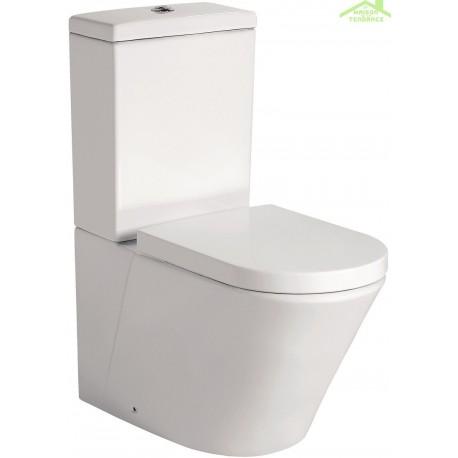 pack wc poser sorento avec abattant frein de chute. Black Bedroom Furniture Sets. Home Design Ideas