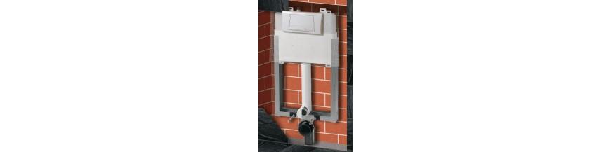Réservoir, Commande & support WC